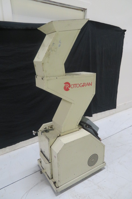 "Rotogran PH-88 Used Granulator, 8.5"" x 7"", 5hp, 480V, Yr. 1998"