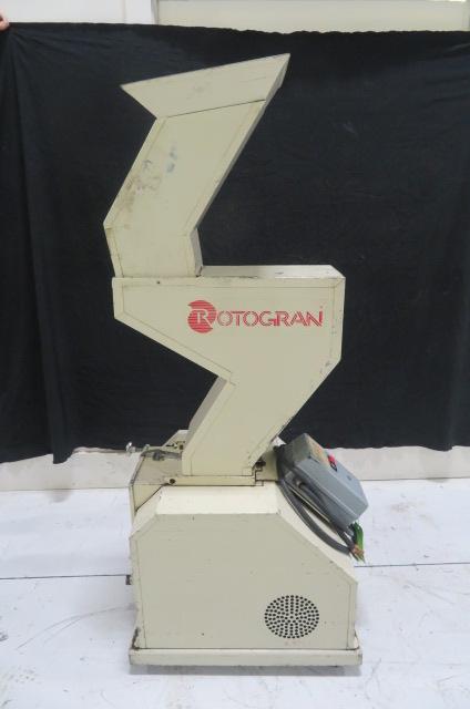 "Rotogran PH-88 Used Granulator, 8.5"" x 7"", 5hp, 480V, Yr. 1998"