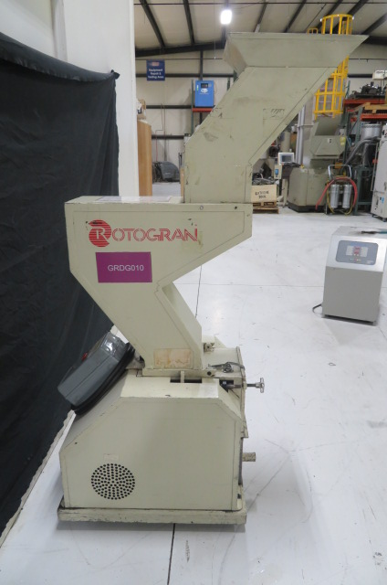 "Rotogran PH-88 Used Granulator, 8.5"" x 7"", 5hp, 480V, Yr. 2000"