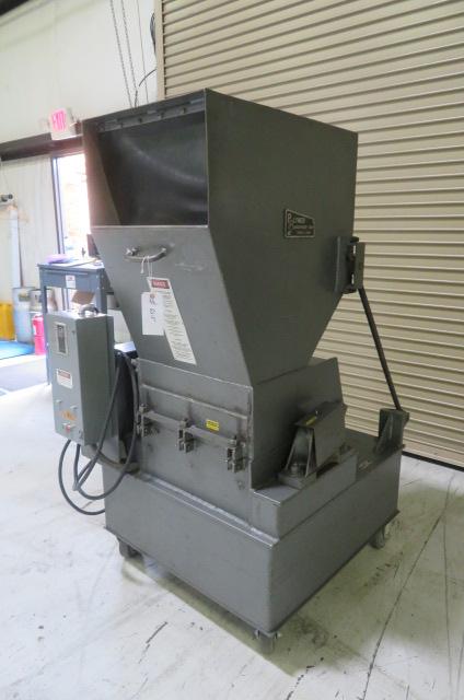 "Polymer Systems Used 1120 SPL Granulator, 11"" x 20"", 15hp, 460V"