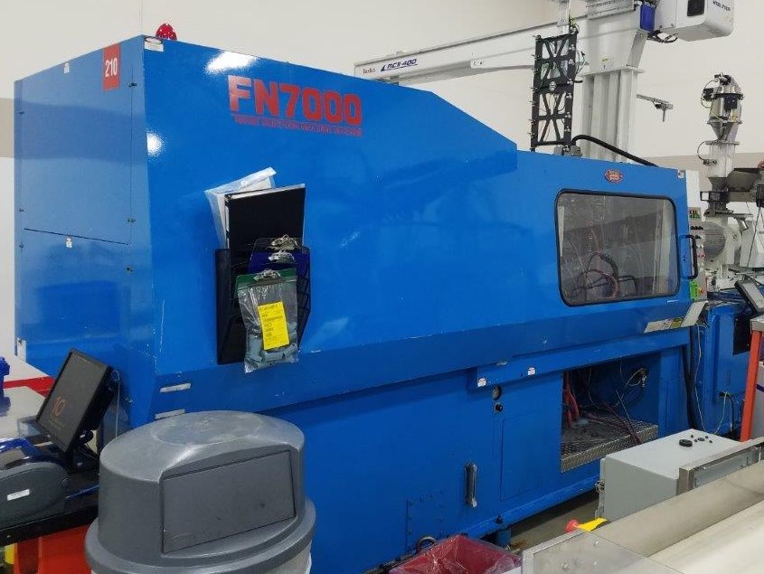 Nissei Used FN7000-100A Injection Molding Machine, 398 US ton, Yr. 1999, 33.8 oz., 460V