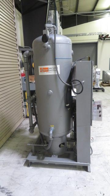 Busch Used RC0100.E506.1003  2-Station Vacuum Pump, 3hp, 460V