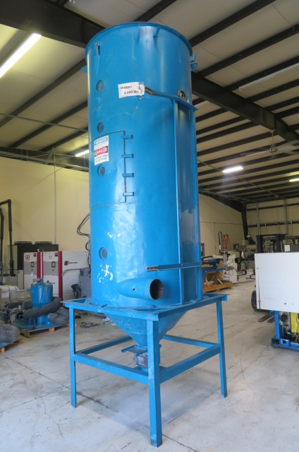 Novatec Used Drying Hopper, 4000 lbs capacity
