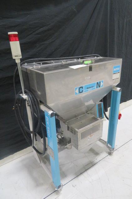 Matsui Used JCT-102SS Volumetric Blender on Stand, Yr. 2011, 120V