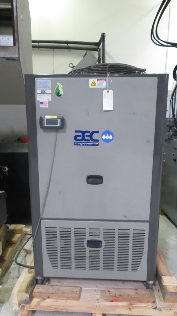 AEC Used GPAC-20 5 Ton Portable Air Cooled Chiller, 5 US ton, Yr. 2011, 480V