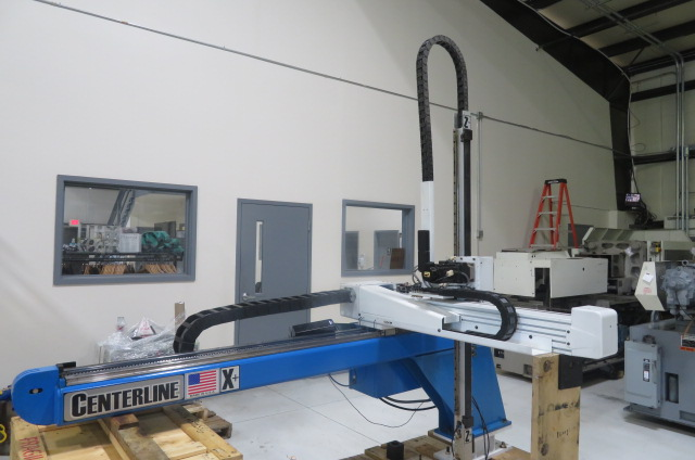 Ranger Used AZ 360 Full Servo Robot with Centerline Upgrade, Yr. 2011