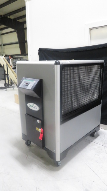 Conair Used PCA5 Air Cooled Portable Chiller, 5 ton, 460V, Yr. 2007