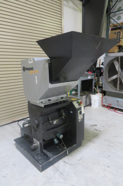 "Rapid  F-19 Granulator, 19"" x 8"", 7.5hp, 230V, Yr. 2006"