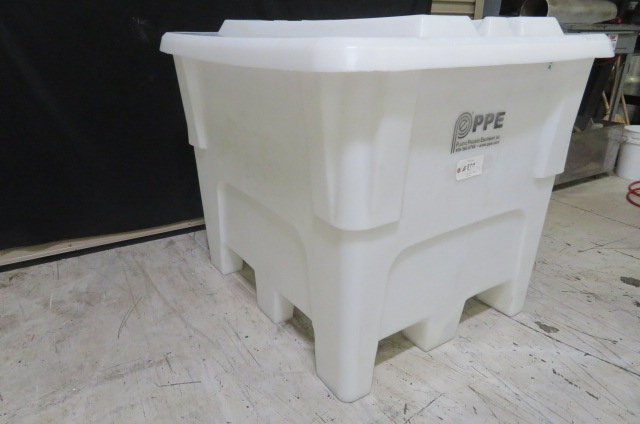 PPE Used PQCT 1020 Material Bin, 1250 lbs. Capacity