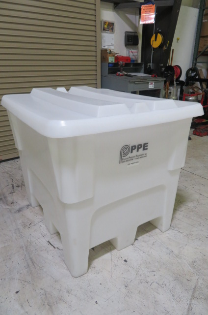 PPE Used PQCT 1020 Material Bin, 1250 lbs. Capacity