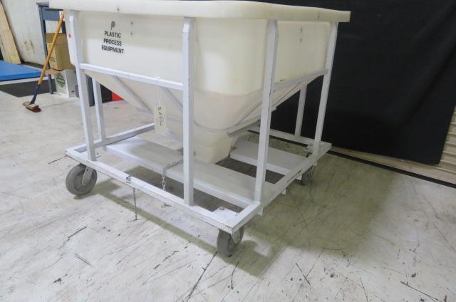 PPE Used MTB 800 Material Bin, 800 lb capacity