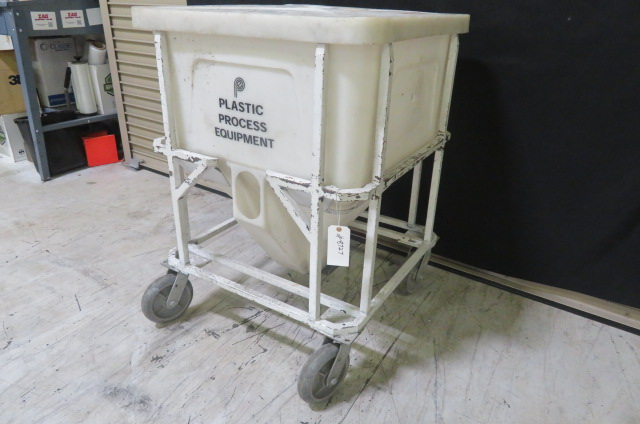PPE Used MTB 375 Material Bin, 410 lbs capacity