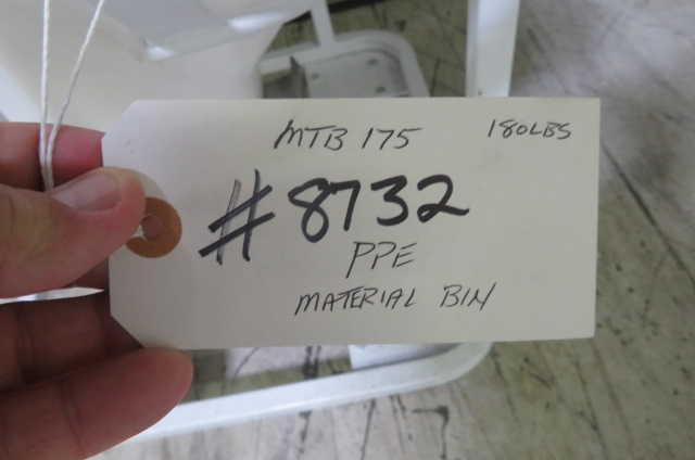 PPE Used MTB 175 Material Bin, 180 lbs. Capacity