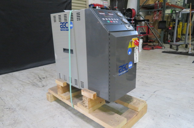 AEC New TCU300 Mold Temperature Controller, 3hp, 12kw, 460V, Yr. 2016