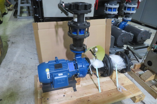 AEC New Assy Pump Skid, Yr. 2016, 460V, 7.5 hp pump
