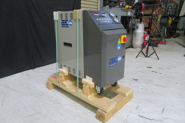 AEC Used TCU075 Mold Temperature Controller, 3/4hp, 18kw, 460V, Yr. 2013