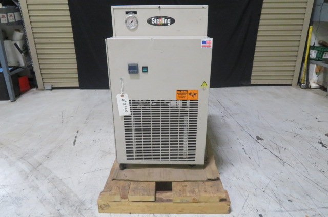 Sterling Used SMCA050  1/2 hp, Air Cooled Portable Chiller, 230V, Yr. 2013