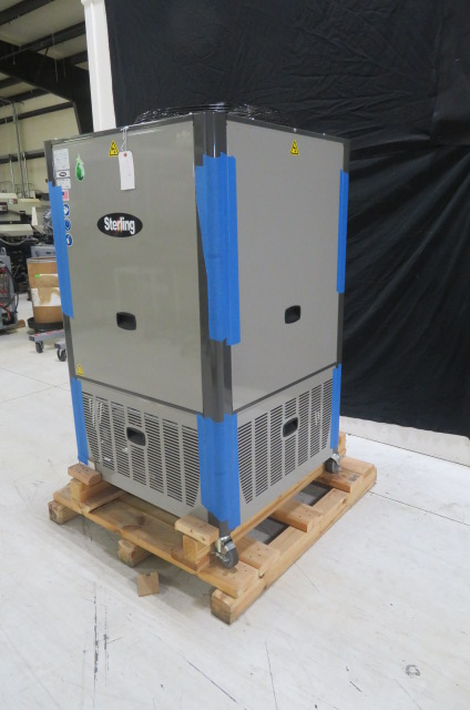 Sterling New GPAC-20 Air Cooled Portable Chiller, 5 ton, 230V, Yr. 2015
