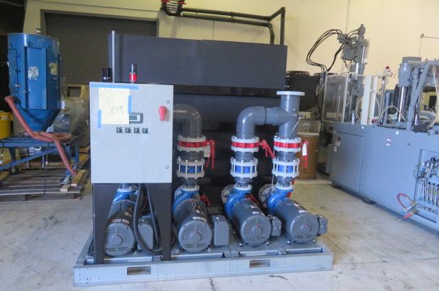 AEC New 2000 Gallon Pump Tank, Yr. 2015, (2) 40hp and (2) 20hp Pumps