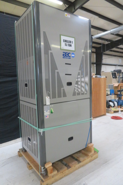 AEC Used GPAC-50 Portable Air Cooled Chiller, 15 ton, 460V, Yr. 2014