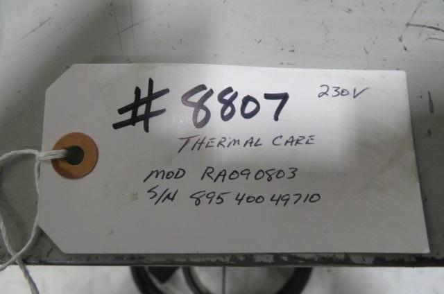Thermal Care Used RA090803 Temperature Control Unit, 3/4hp, 9kw, 230V, Yr. 1997