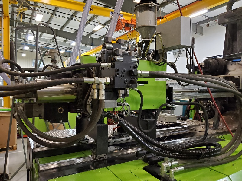 Engel Used DUO 2050/500 Pico US Injection Molding Machine, 500 US ton, Yr. 2012, 50.3 oz.