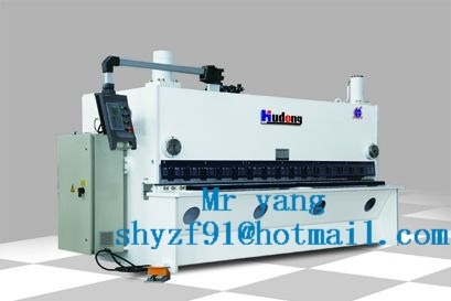Cnc-guillotine-shearing-machine
