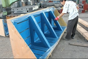 Esco cast iron angle plate 1000mm x 3000mm x 800mm