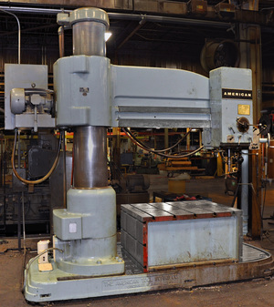 American 7 x19 radial drill 01