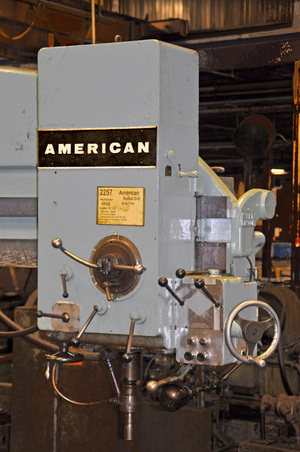 American radial drill 3