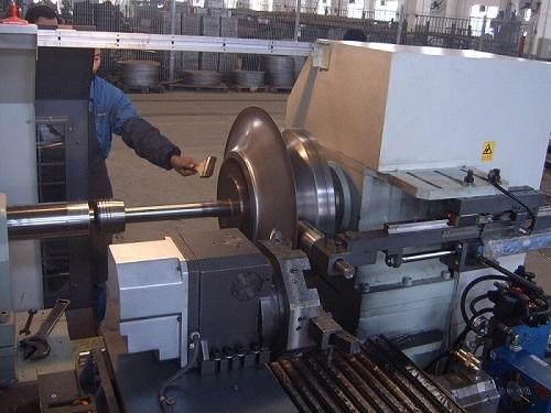 Machine in testing