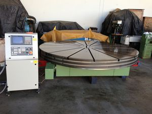 Eimeldingen 10 ft air bearing rotary table