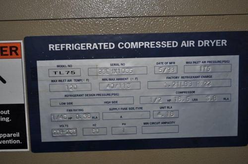 General pneumatics air dryer 1318e  3