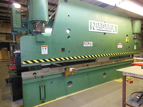 Niagara hd 400 16 20 hydraulic press brake