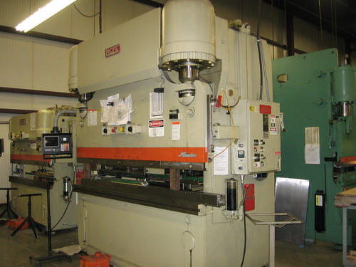 Pacific model j225 8 hydraulic press brake2