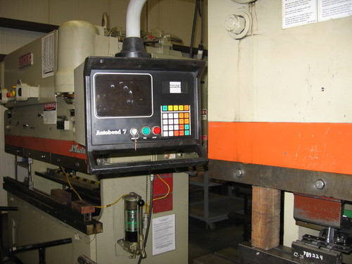 Pacific model j225 8 hydraulic press brake3