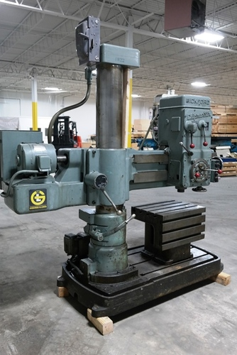 Giddings   lewis bickford chipmaster radial arm drill2
