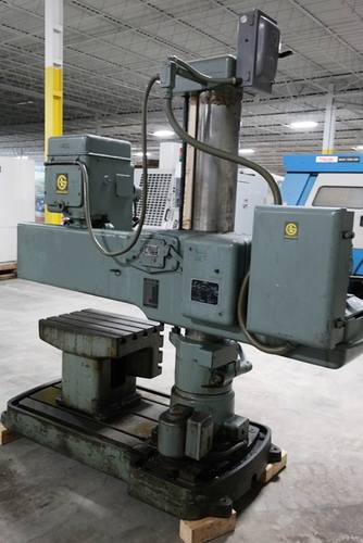 Giddings   lewis bickford chipmaster radial arm drill3