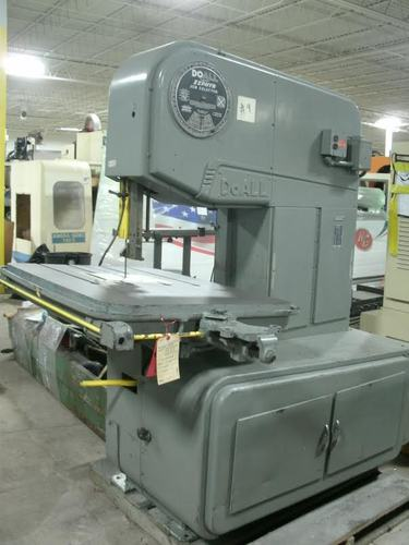 Doall model zephyr 36in vertical bandsaw2