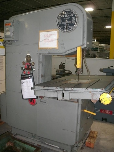 Doall model zephyr 36in vertical bandsaw3