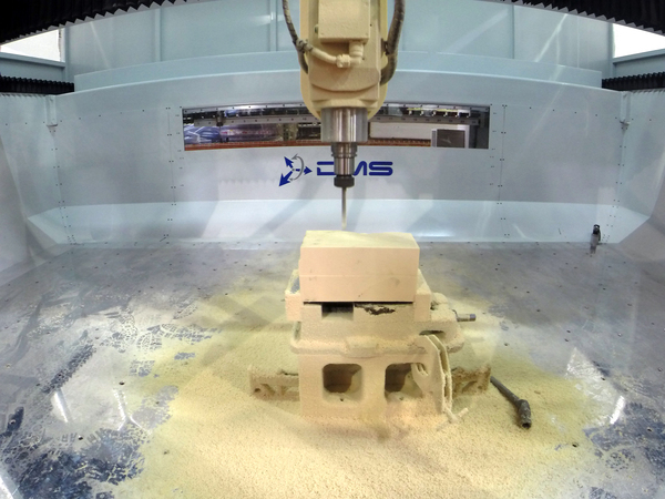 Dms_5_axis_enclosed_cnc_router_demo