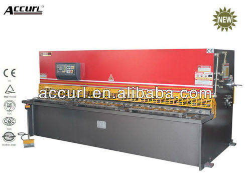 Qc12k 25 3200 guillotine cnc hydraulic mechanical
