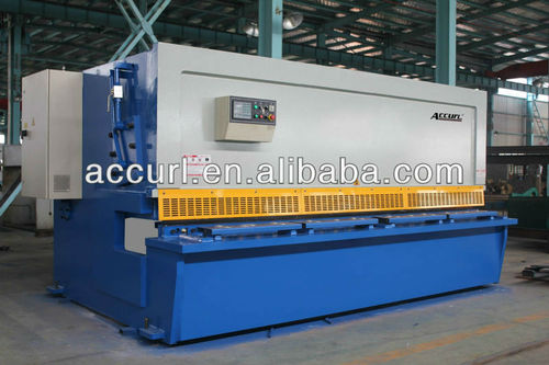 Qc12k 20 6000 hydraulic cnc shearing machine