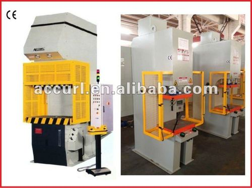 Hydraulic blanking machine with great performance
