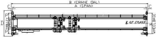 Double-girder-top-running