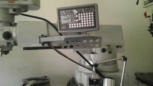 3 axis dro head on milling machine