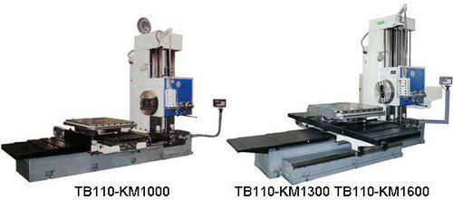 Tb110 km dro horizontal boring and milling machine