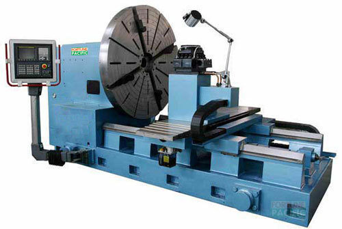 Fl2000 fl2500 cnc 4tons facing lathe