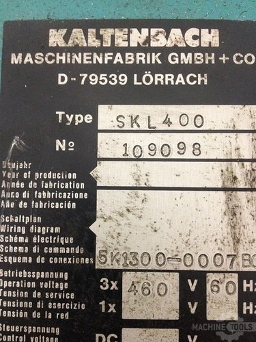 Kaltenbach_model_skl400_automatic_non-ferrous_cold_saw8