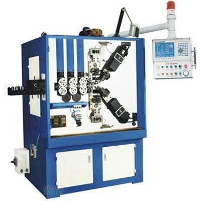 Scm50 c6 spring coiling machine